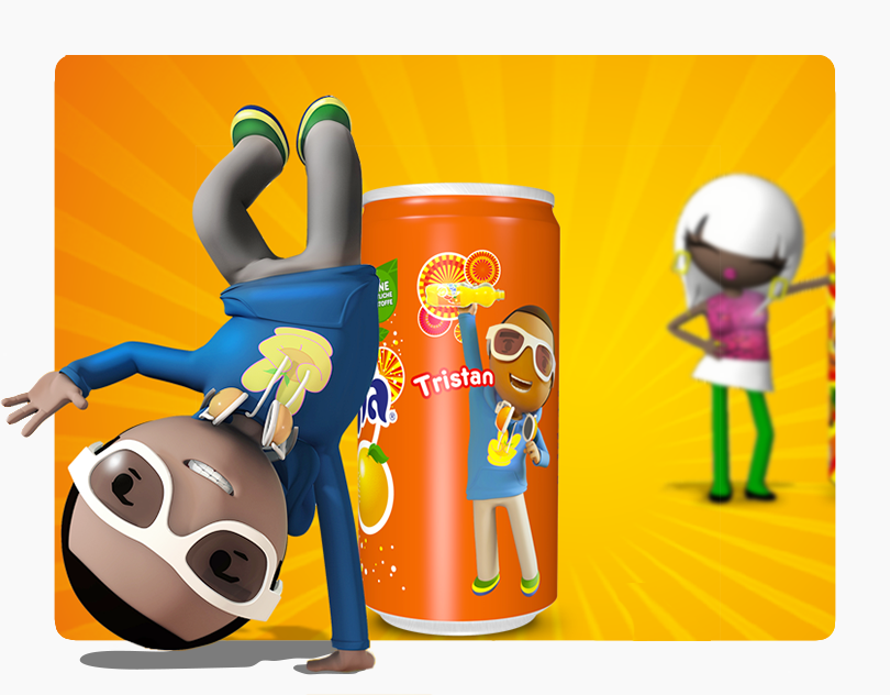 Fanta Social Media and Website