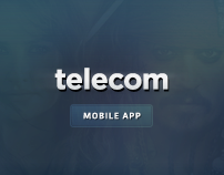 Telecommunications company app