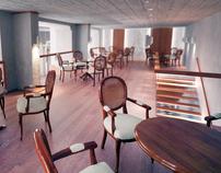 - Cafe bar - interior design