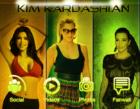 Kim Kardashian Android and Blackberry App