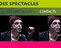 La gestion des spectacles (website)