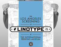 Linotype: The Film – Los Angeles Screening Promotion