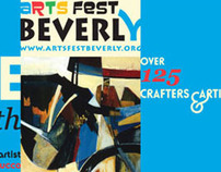 Beverly Arts Festival branding and materials