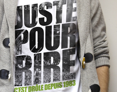 Tee-shirts Juste pour rire/Just for Laughs