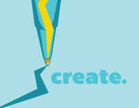 Create: Pen & Energy Icon Design