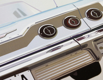 63 Chevrolet Impala Illustration