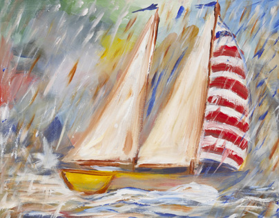 Yacht Race Paintings by Kevin Geary