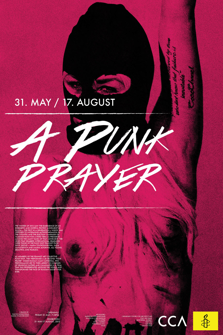 A Punk Prayer Exhibition Design
