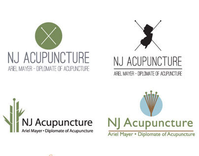 NJ Acupuncture Logo Design