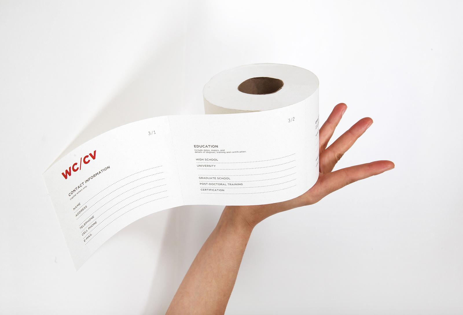 WC/CV Toilet Paper