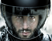 THE KNIGHT: Nicolas Robin, writer and biker