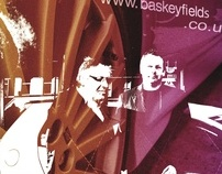 Baskeyfield Motors- Wall Art and folder design