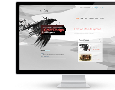 Natilus Website Redesign