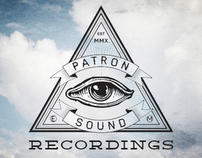 Patron Sound Recordings - Logo/Branding