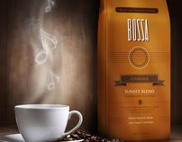 Bossa Brazilian Coffee . Branding + Packaging
