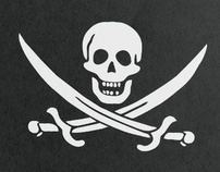 Fake piracy ID for Esquire Russia
