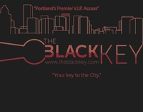 THe black Key Logo Design