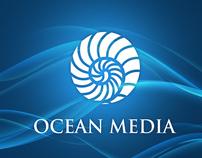 Ocean Media_Pocket Folder & Corporate Identity Concept