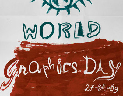 World Graphics Day Poster (Polish inspiration)