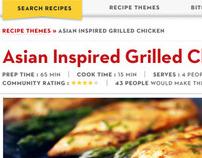 Cook with Campbells Website Redesign
