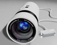 iSight Go Concept: iPhone Plug-In Subjective Camera