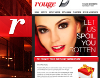 Rouge / Fashion + Beauty : Promotions