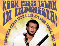 Rock Meets Islam Concert Poster