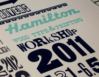 Hamilton Woodtype Museum Workshop