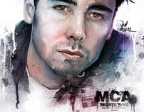Art Tribute MCA (Adam Yauch) Beastie Boys