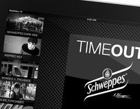 Application TimeOut&Schweppes