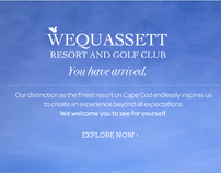 Wequassett - webSite project