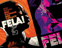 Fela! illustration & design