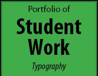 Student Work: Typography