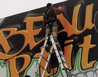 Lauzon Volkswagen - Audi - Porsche - Graffitti Campaign