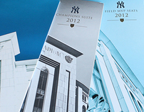 New York Yankees 2012 Renewal Brochures
