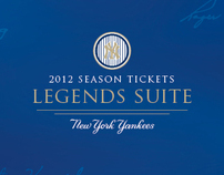 New York Yankees 2012 Premium Season Tickets