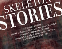 Skeleton Stories Poster & Brochure