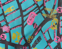 Wear & Walk Silk Map