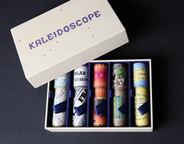 Kaleidoscope - made from typography