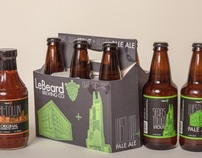Beer Company Brand Identity + Logo + Packaging