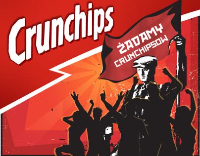 Socialist appeal from Crunchips