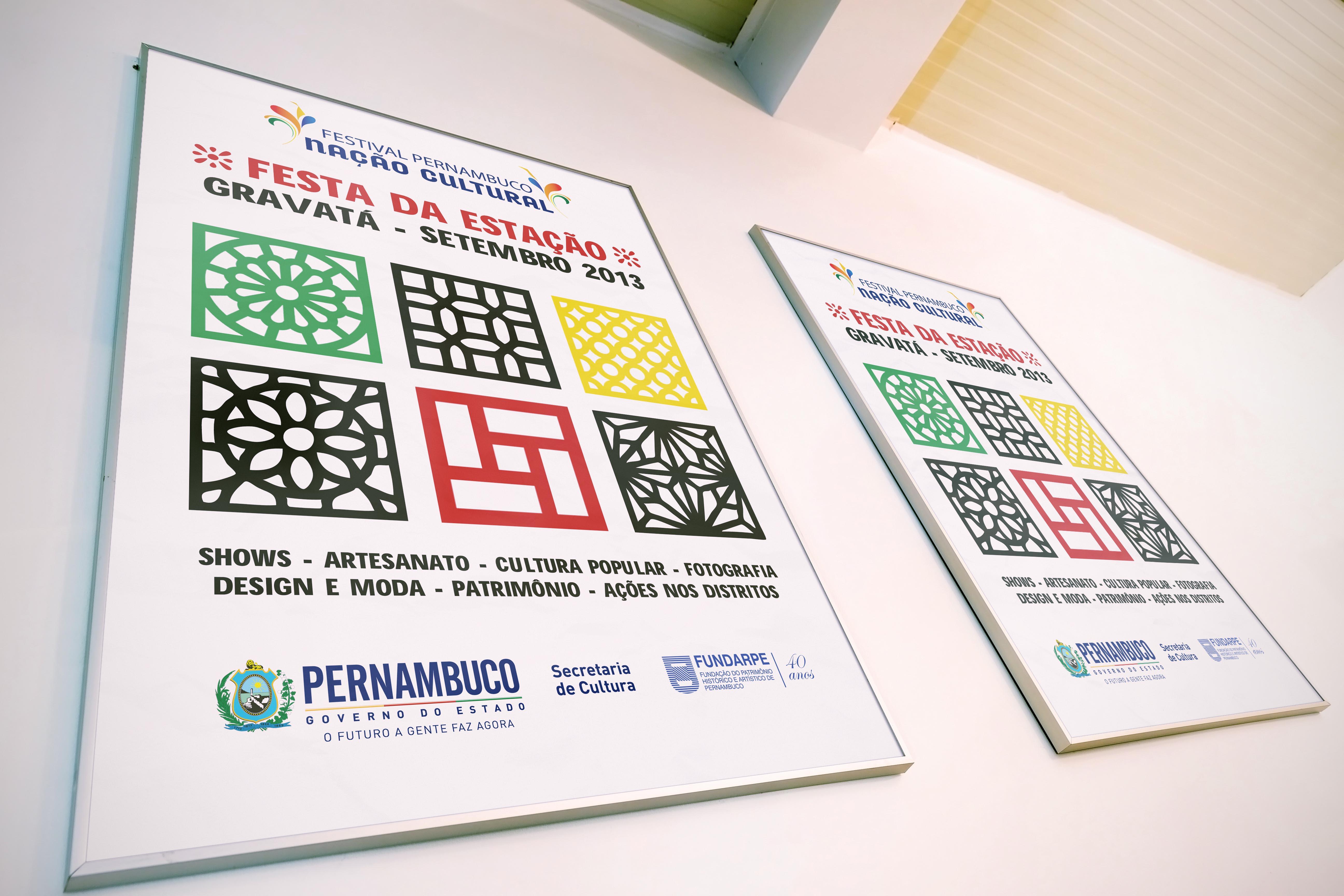 Cartaz Festival Pernambuco Nação Cultural