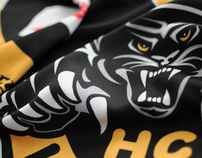 Hockey Club Lugano jerseys / 2011