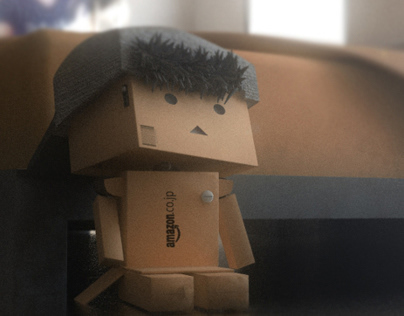 Danbo looking for something