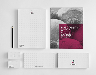 CREAM: visual identity