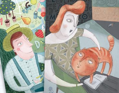 CIRCLE OF JOY    story cards