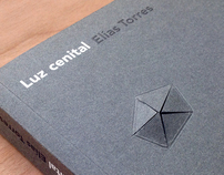 "Book design ""Cenital light"" Elías Torres"