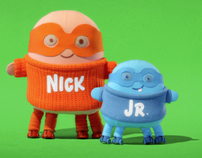 Nick Jr Huggables Logo IDs 2008 ( scaters)