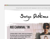 Serge DeNimes | Fashion Brand