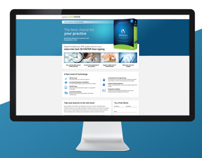 Dragon® Medical Practice Edition Web Collateral